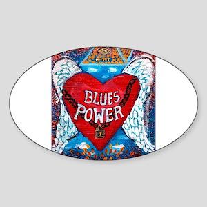 Blues Power Sticker