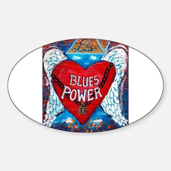 Blues Power Bumper Stickers