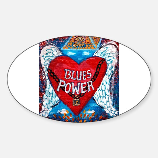 Blues Power Decal