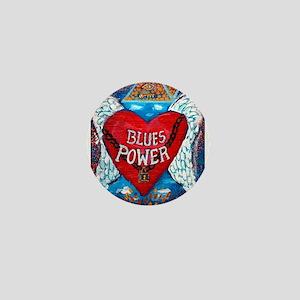 Blues Power Mini Button