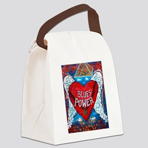 Blues Power Canvas Lunch Bag