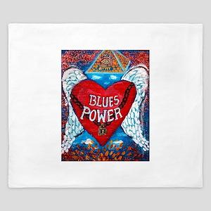 Blues Power King Duvet