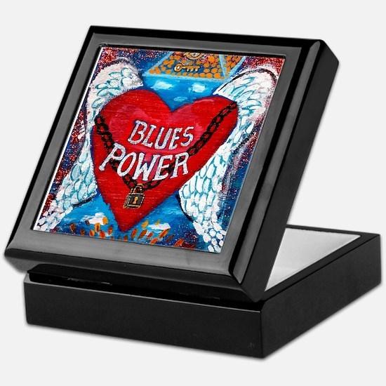 Blues Power Keepsake Box