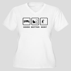 Detective Women's Plus Size V-Neck T-Shirt