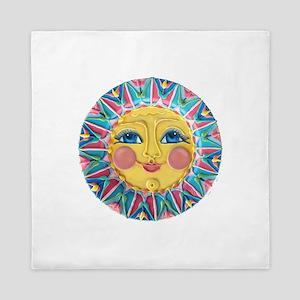 Sun face - Spring Queen Duvet