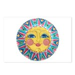Sun face - Spring Postcards (Package of 8)
