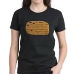 Native American Saying Women's Dark T-Shirt