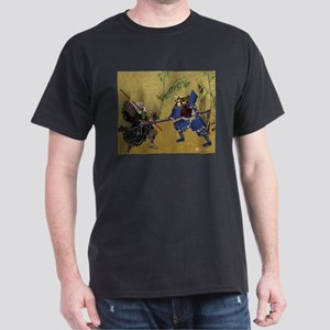 Dark T-Shirt, Warrior Monk