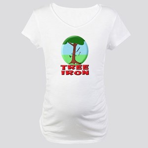 Tree Iron Maternity T-Shirt