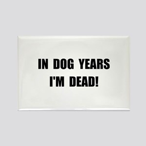 Dog Years Rectangle Magnet (10 pack)