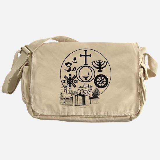 Interfaith Logo Messenger Bag