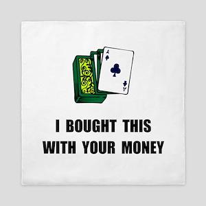 Gamble Your Money Queen Duvet