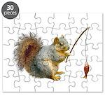 Fishing Squirrel Puzzle