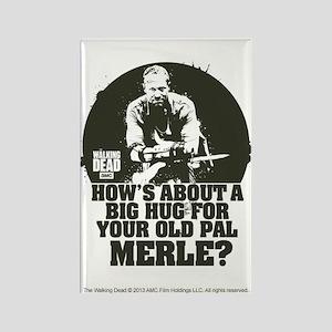 Walking Dead Merle Big Ole Hug Magnet