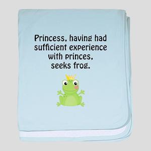 Princess Frog baby blanket