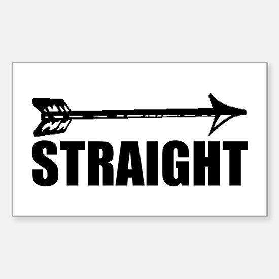 Straight as an arrow Decal
