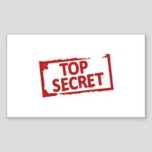 Top Secret Stamp Sticker