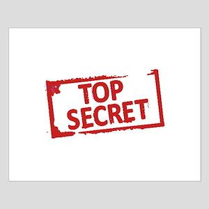Top Secret Stamp Posters