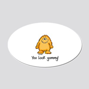 You look yummy - cute monster by send2smiles Wall
