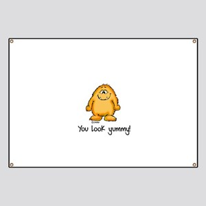 You look yummy - cute monster by send2smiles Banne