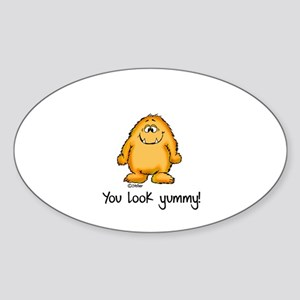 You look yummy - cute monster by send2smiles Stick