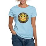 Sun Face #2 (blk) Women's Light T-Shirt