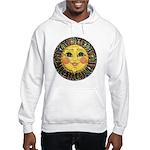 Sun Face #2 (blk) Hooded Sweatshirt