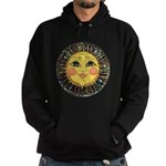 Sun Face #2 (blk) Hoodie (dark)