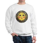 Sun Face #2 (blk) Sweatshirt