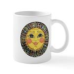 Sun Face #2 (blk) Mug