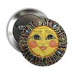 Sun Face #2 (blk) 2.25
