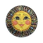 Sun Face #2 (blk) 3.5