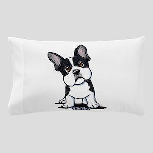 French Bulldog B/W Mask Pillow Case