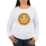 Sun Face #3 - Summer Women's Long Sleeve T-Shirt