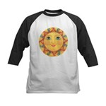 Sun Face #3 - Summer Kids Baseball Jersey