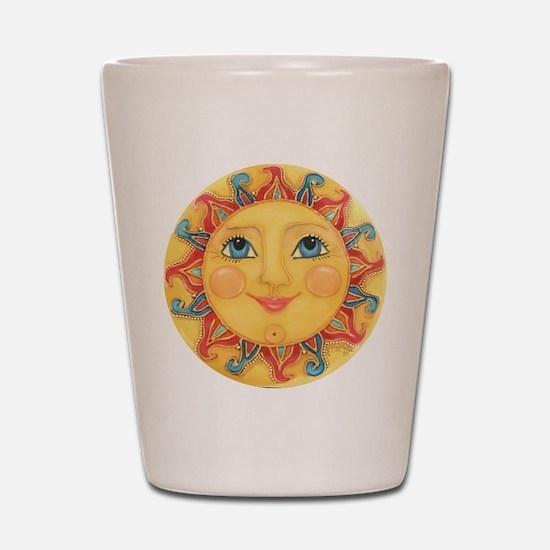 Sun Face #3 - Summer Shot Glass