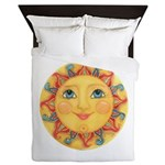 Sun Face #3 - Summer Queen Duvet