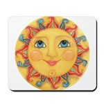 Sun Face #3 - Summer Mousepad