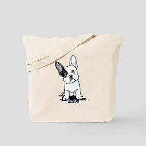 B/W French Bulldog Tote Bag
