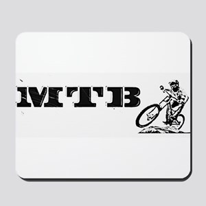 MTB BW Mousepad