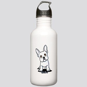 White French Bulldog Stainless Water Bottle 1.0L
