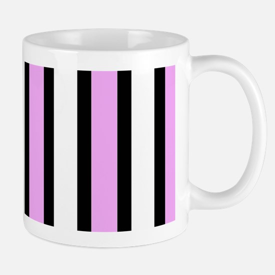 Modern Black Stripes Mug
