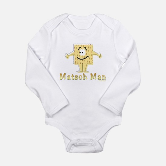 Matzoh Man Passover Body Suit