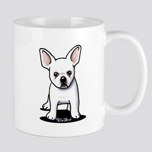 White Frenchie Mug