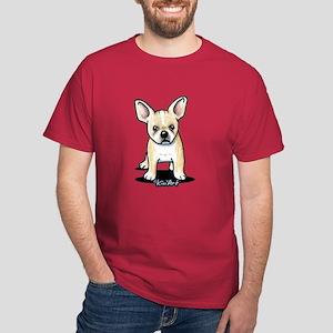 B/W French Bulldog Dark T-Shirt