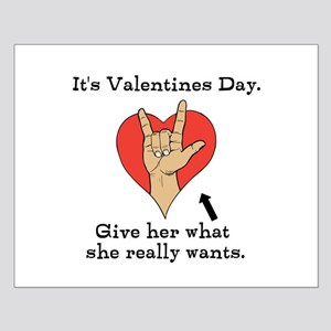 Naughty Valentines Day Posters
