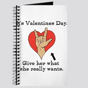 Naughty Valentines Day Journal