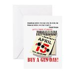 Buy a Gun Day Greeting Cards (Pk of 20)