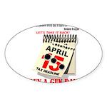 Buy a Gun Day Sticker (Oval 10 pk)