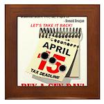 Buy a Gun Day Framed Tile